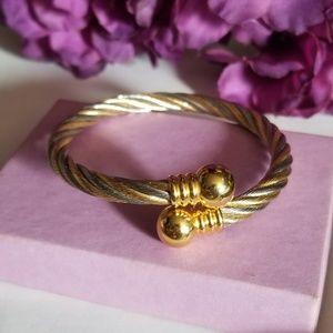 Beautiful VTG Cable Bracelet